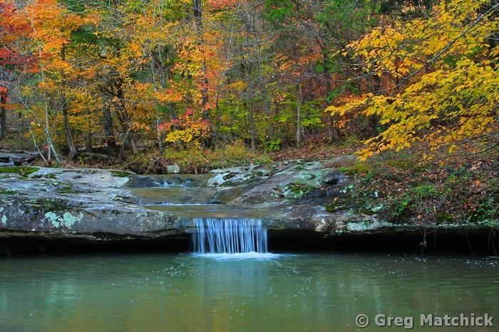 Woodland Creek in Shawnee National Forest 2