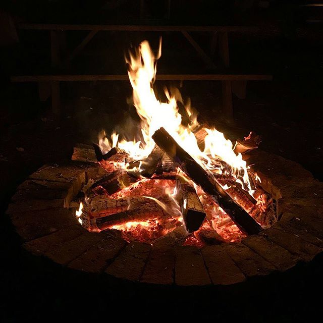 It's starting to get cold here in Northern Hemisphere. So sit back and enjoy the fire. 🔥⠀ .⠀ .⠀ .⠀ #bonfire #fire #night #warmth #coldnights #travel