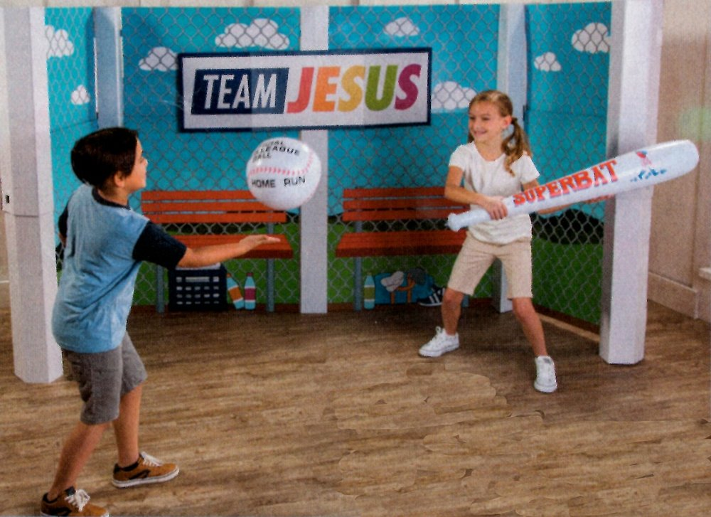 Get In The Game With Jesus Vbs Southminster Presbyterian Church