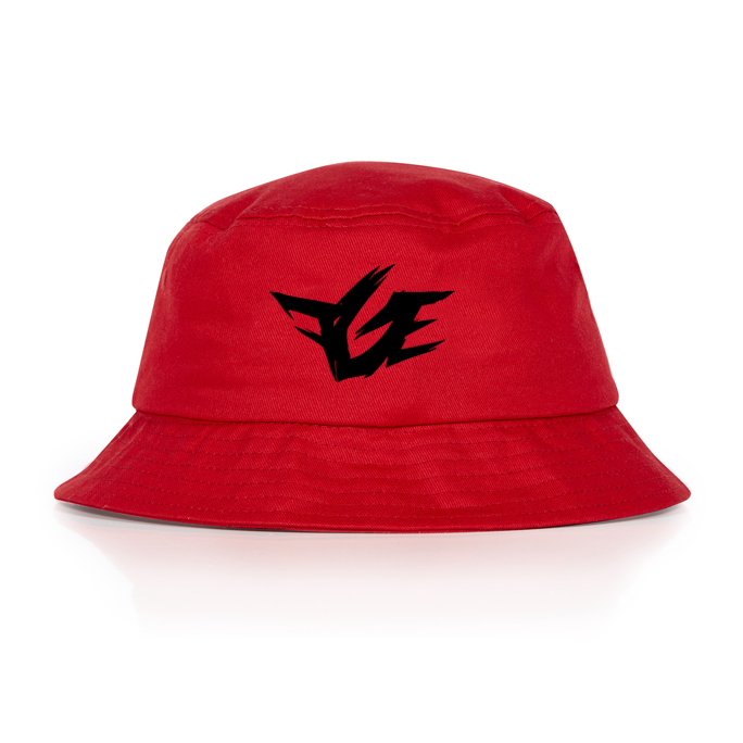 5d5bbe64644 Red FGE Bucket Hat — FGE ONLINE STORE