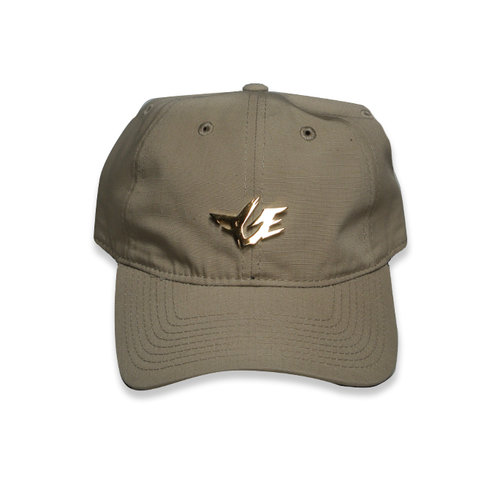 3e3b0b6cee6 Gold Rapper Dad Hat (Khaki). tan hat product pic.jpg