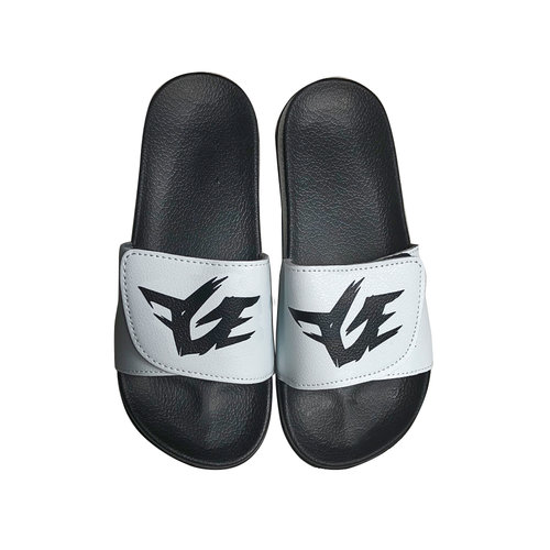 fge slides black white mens sizes 7 12 fge online store