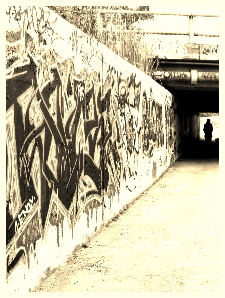 graffiti walk, hull qc