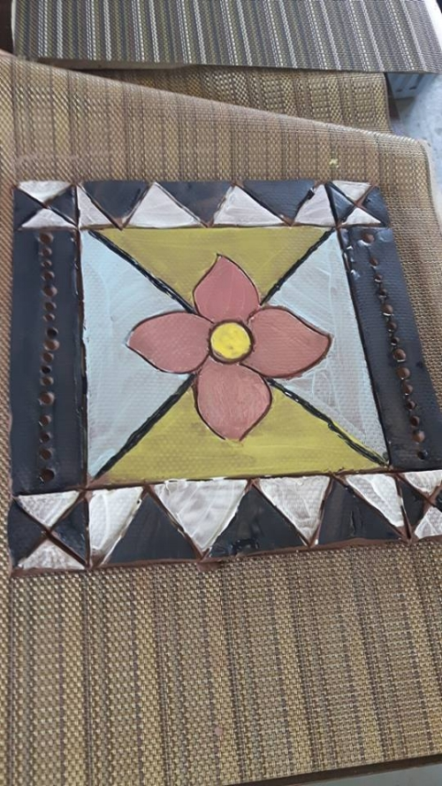 one of the Métis tiles I believe...Photo credit: Jenna Spagnoli