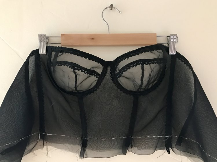 Organza And Lace An Esplanade Bra And A Just Patterns Skirt A