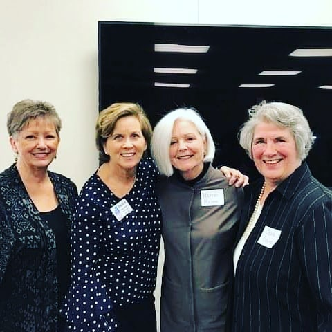 "We had a wonderful time at our January Luncheon. We heard a bit from some of our founders about the challenges they faced as Women in a ""Man's"" world and what lead them to start our organization.  Then we spoke a bit about the future of WCRE and where we're headed.  A special Thank You to our sponsor, C & R Services, Inc. and to Color Burst for the beautiful succulents. #wcrenashville #wcre #womenincommercialrealestate @candrservicesinc"