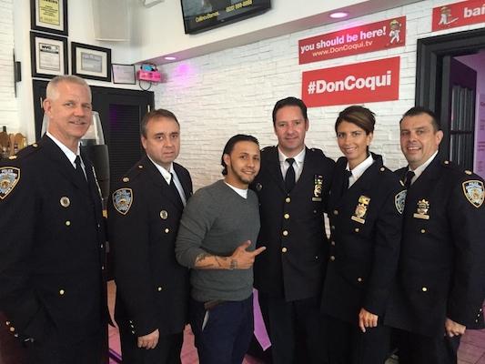 Hector w Bronx Police.jpg