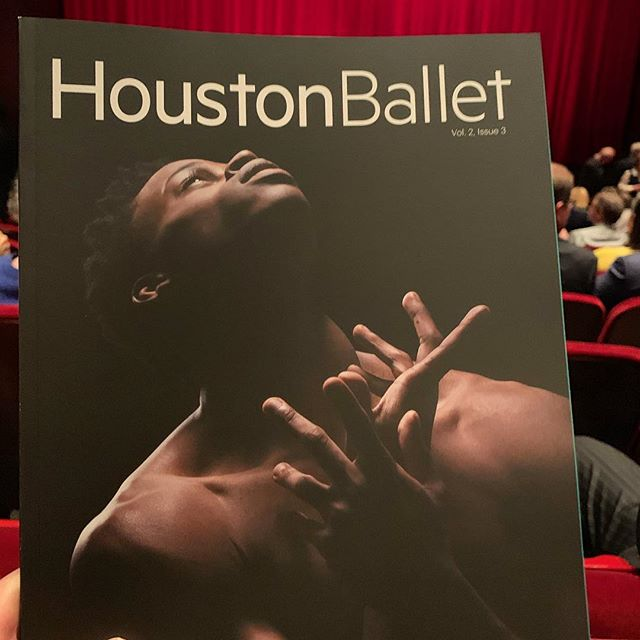 Saw a great evening of dance @houstonballet including @justin_peck premiere Reflections. Loved it 💯 %! Congrats to Stanton and Jim at the ballet for a great evening. So wonderful to have such talented artists working in this great city. #ballet #houston #texas #houstonarts #dancer #choreography