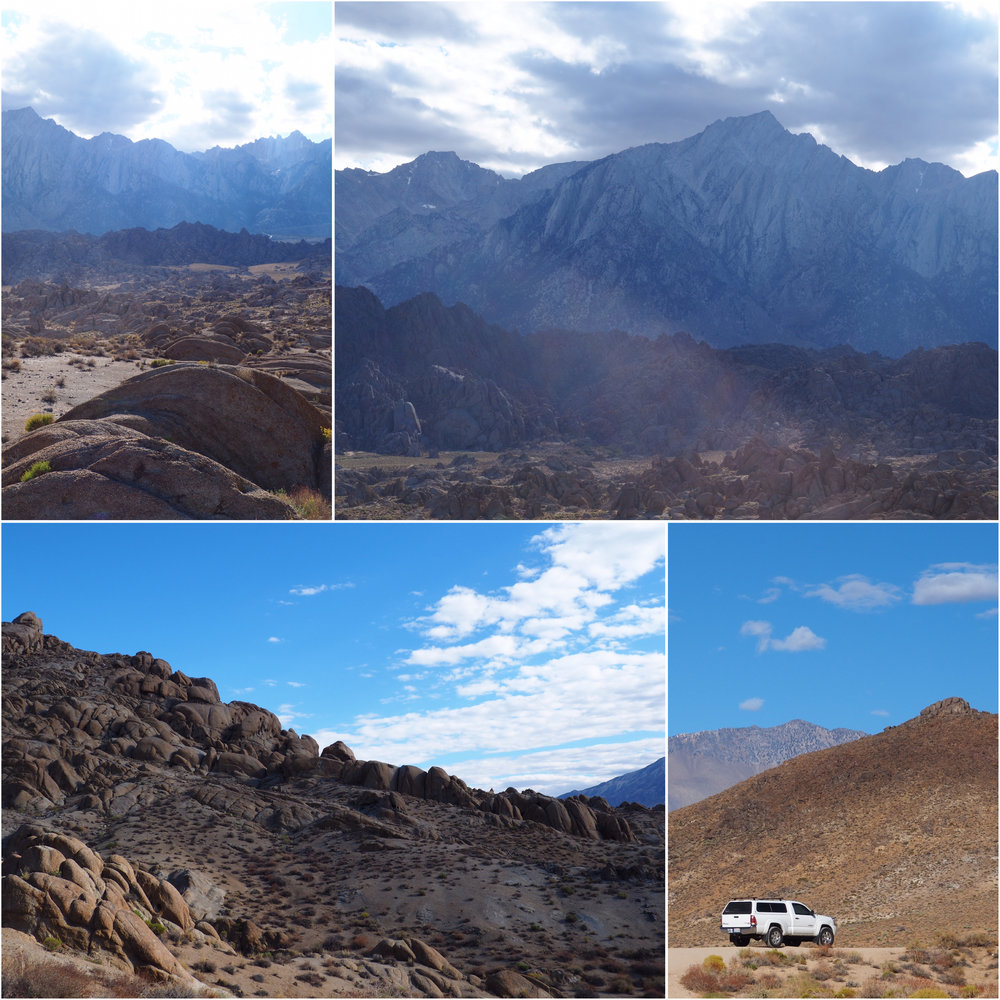 Alabama Hills - now on my bucket list to come back and camp tucked behind these huge rocks.