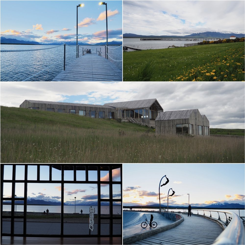 Puerto Natales. The Simple Patagonia hotel (we did not stay there)
