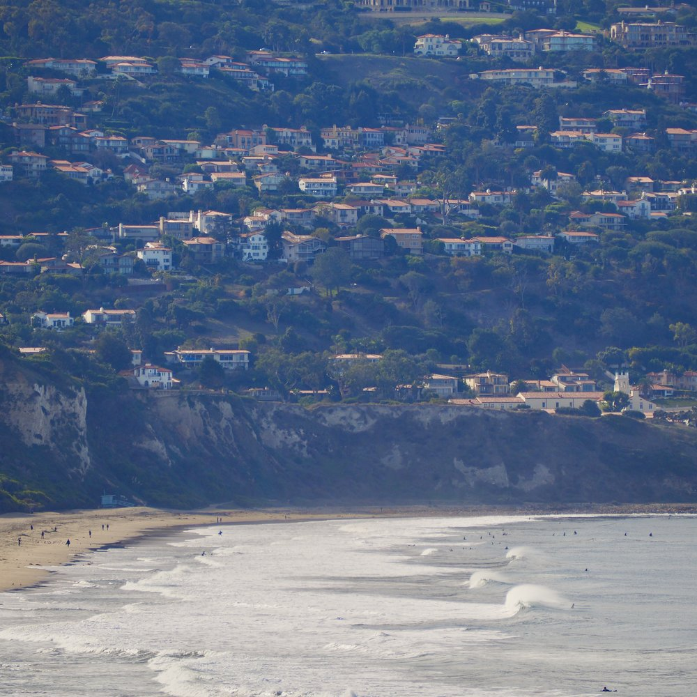 Palos Verdes surf check Saturday