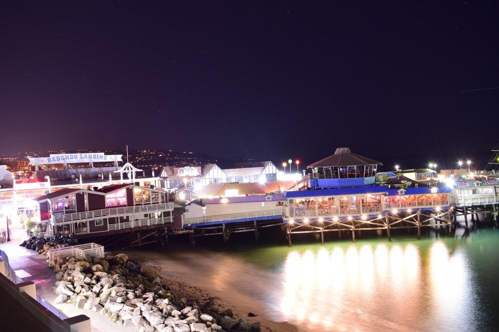 Nikon. At the pier