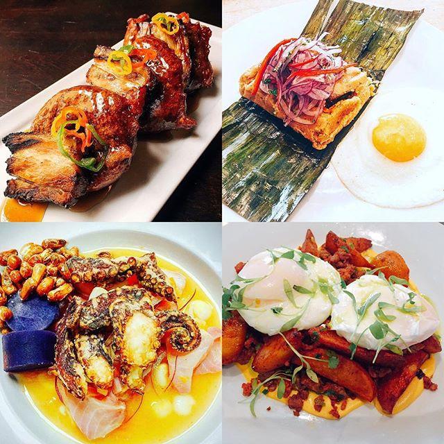 Sunday brunch awaits you @isla_atx . . #brunch #austin #austinfood #austineats #austinfoodstagram #picarones #tamales #ceviche #cebiche #poachedeggs #peru #peruinaustin #peruvianfood #truecooks #cheflife