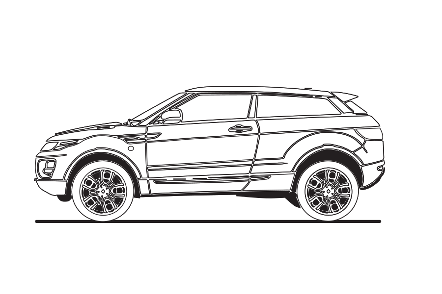 Range Rover Evoque — North Texas British