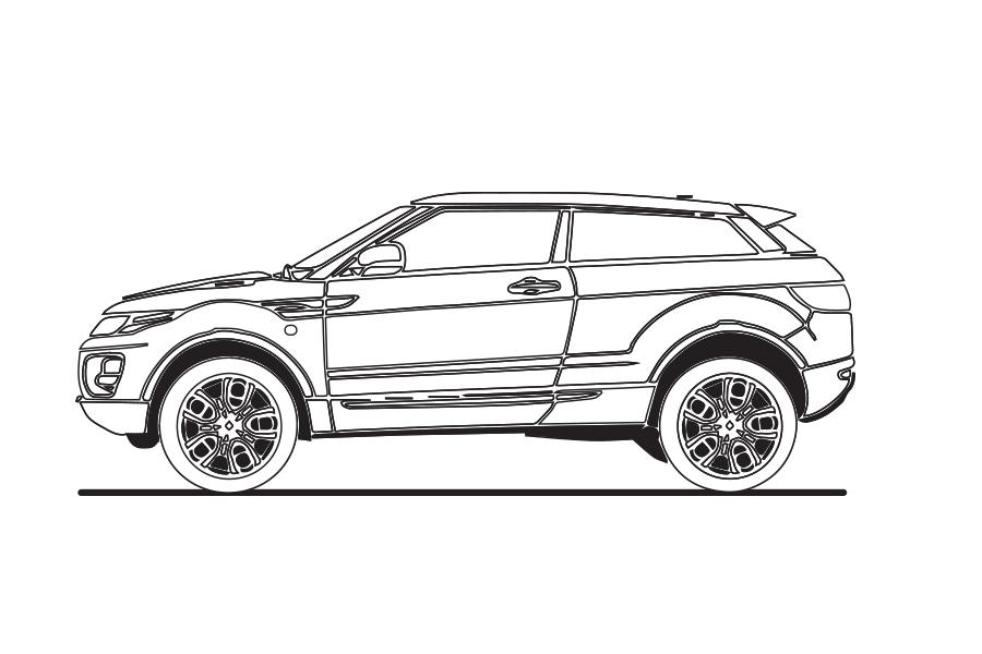 Range Rover Evoque — North Texas British