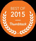 thumbtack best of 2015 badge