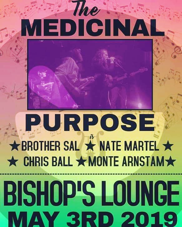 The healing begins again on 5/3 at #bishopslounge. #themedicinalpurpose #soulmusic #telesavales