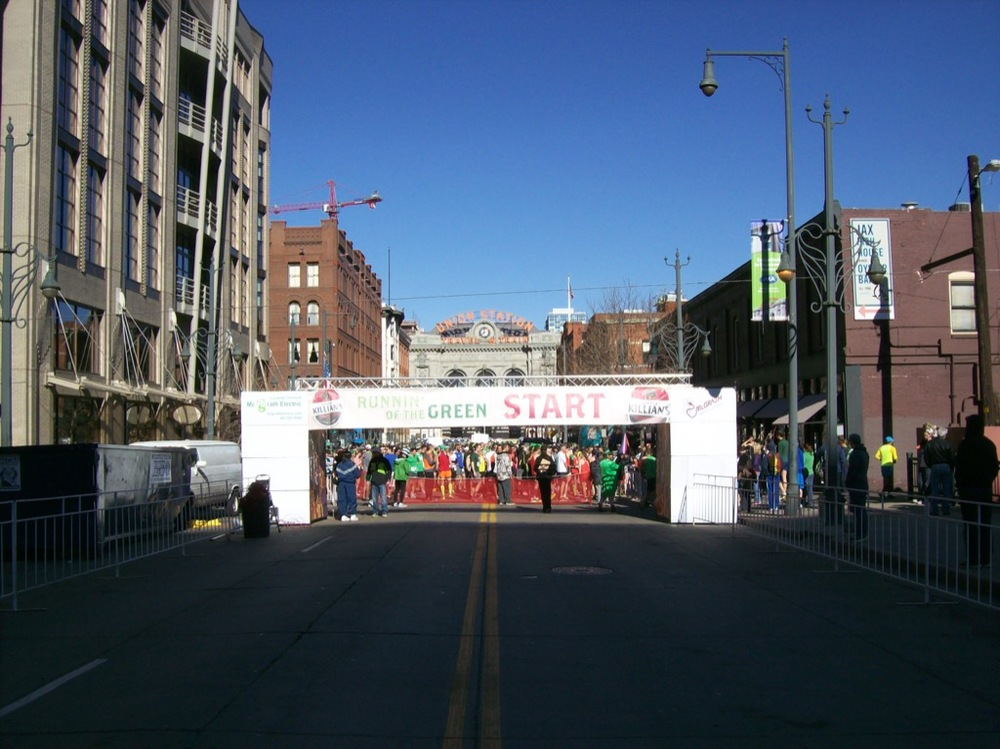 Runnin' Of The Green   Race Day: March 12th, 2017   Registration