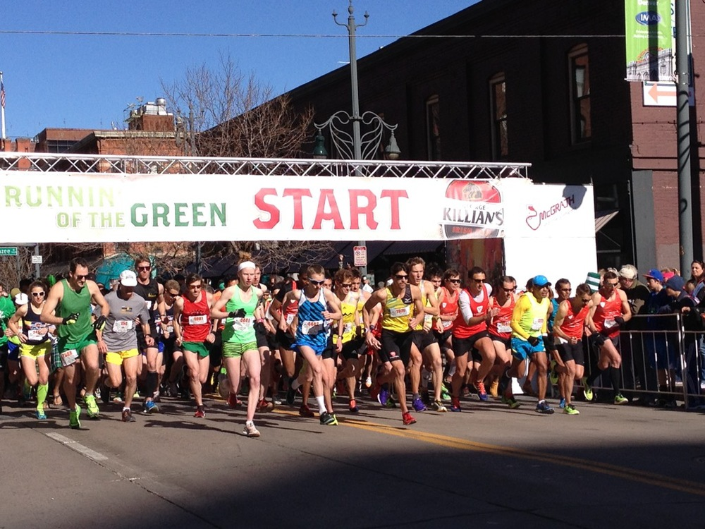 Runnin' Of The Green   Register Now!    Registration