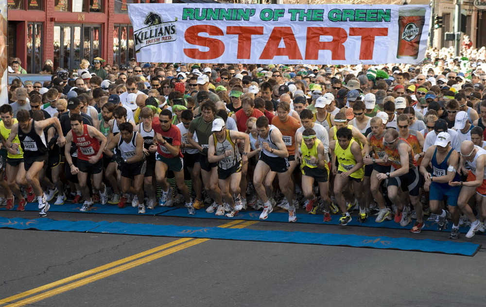 Runnin' Of The Green    Registration open soon