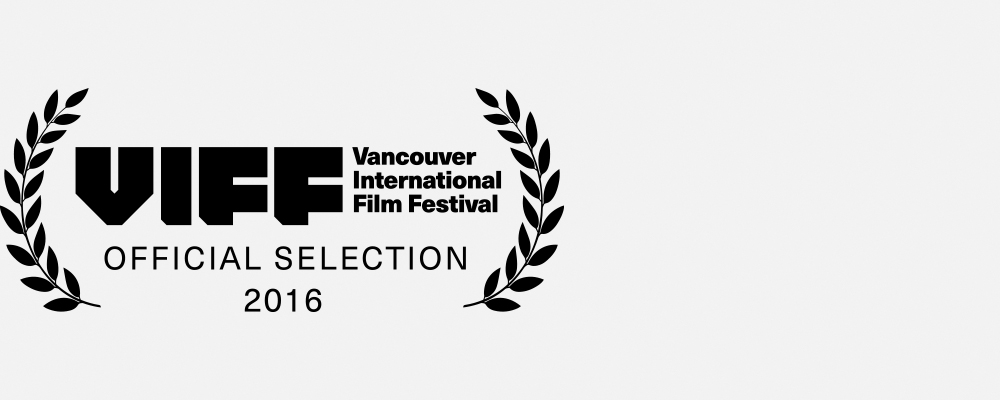VANCOUVER INTERNATIONAL FILM FESTIVAL 2016 Audience Award for Best Canadian Documentary Winner
