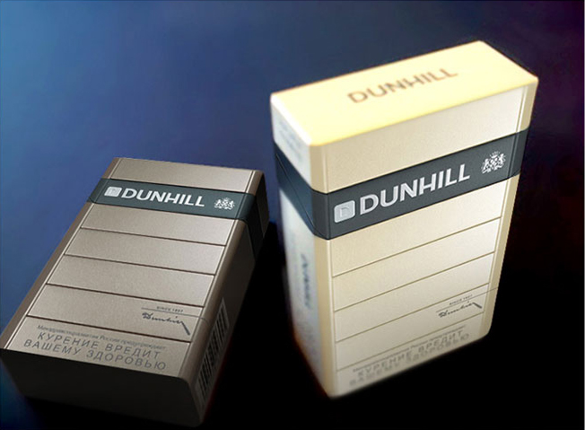 When Dunhill was looking to redesign their line of packaging it was no small task. Careful care went into branding architecture, color, substrates, inks, and finishes. We pushed the limits with thermographic inks and deep variations of embossing and debossing.