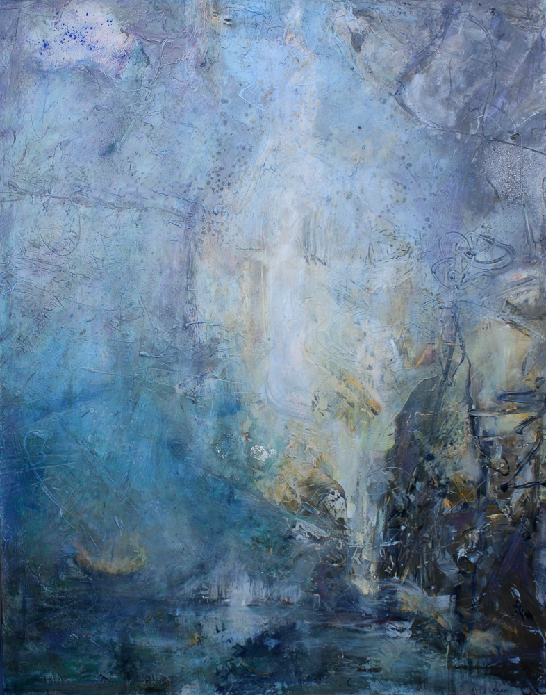 "Into the Mystic, 60""x47"""