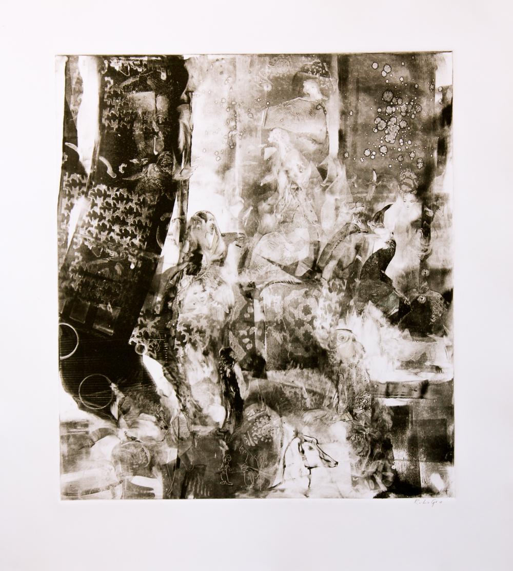 "Tapestry, 19""x17"", 2015"