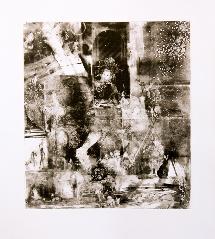 """The Poet, 19""""x17"""", 2015"""