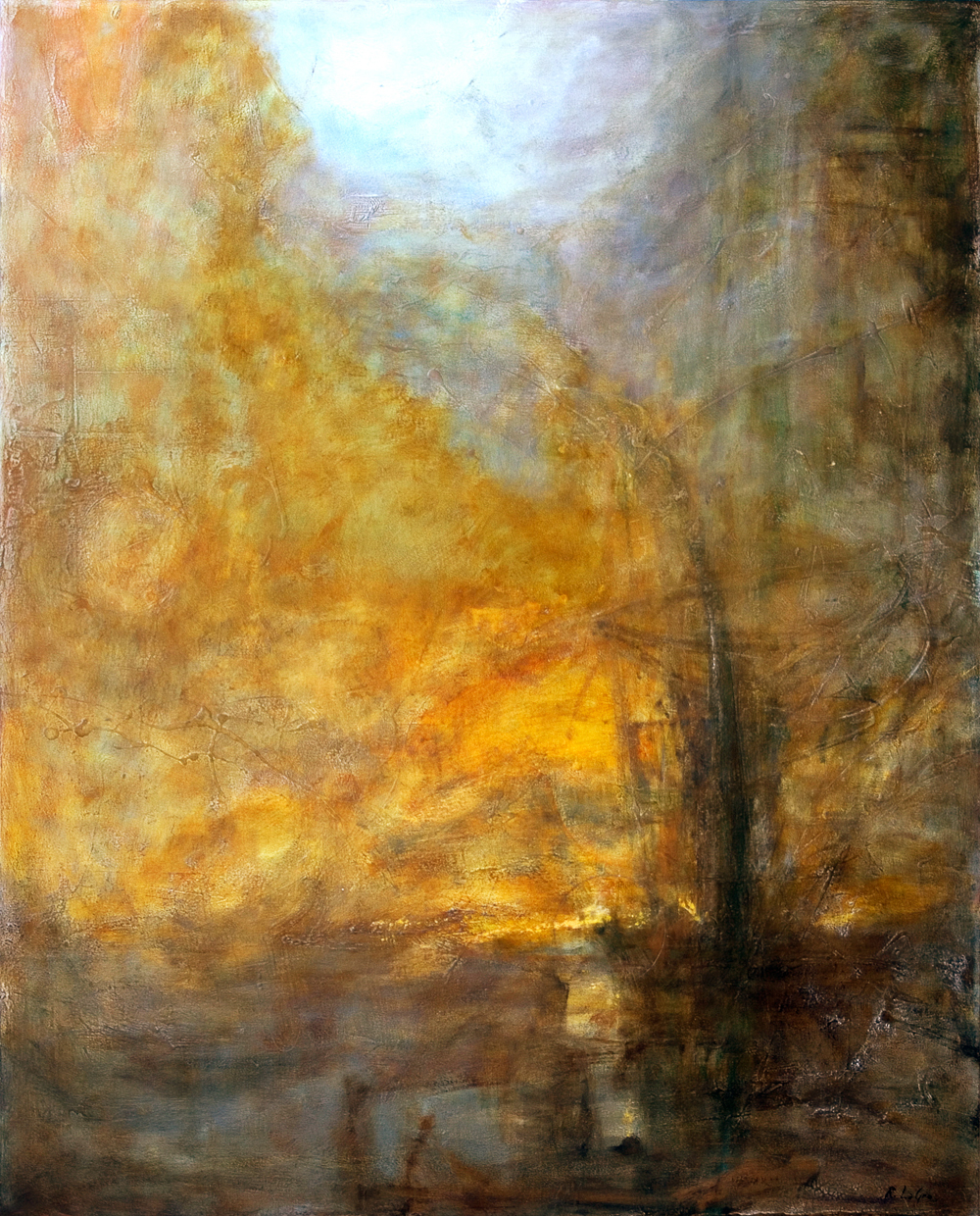"Nocturne, 50""x40"", 2007"