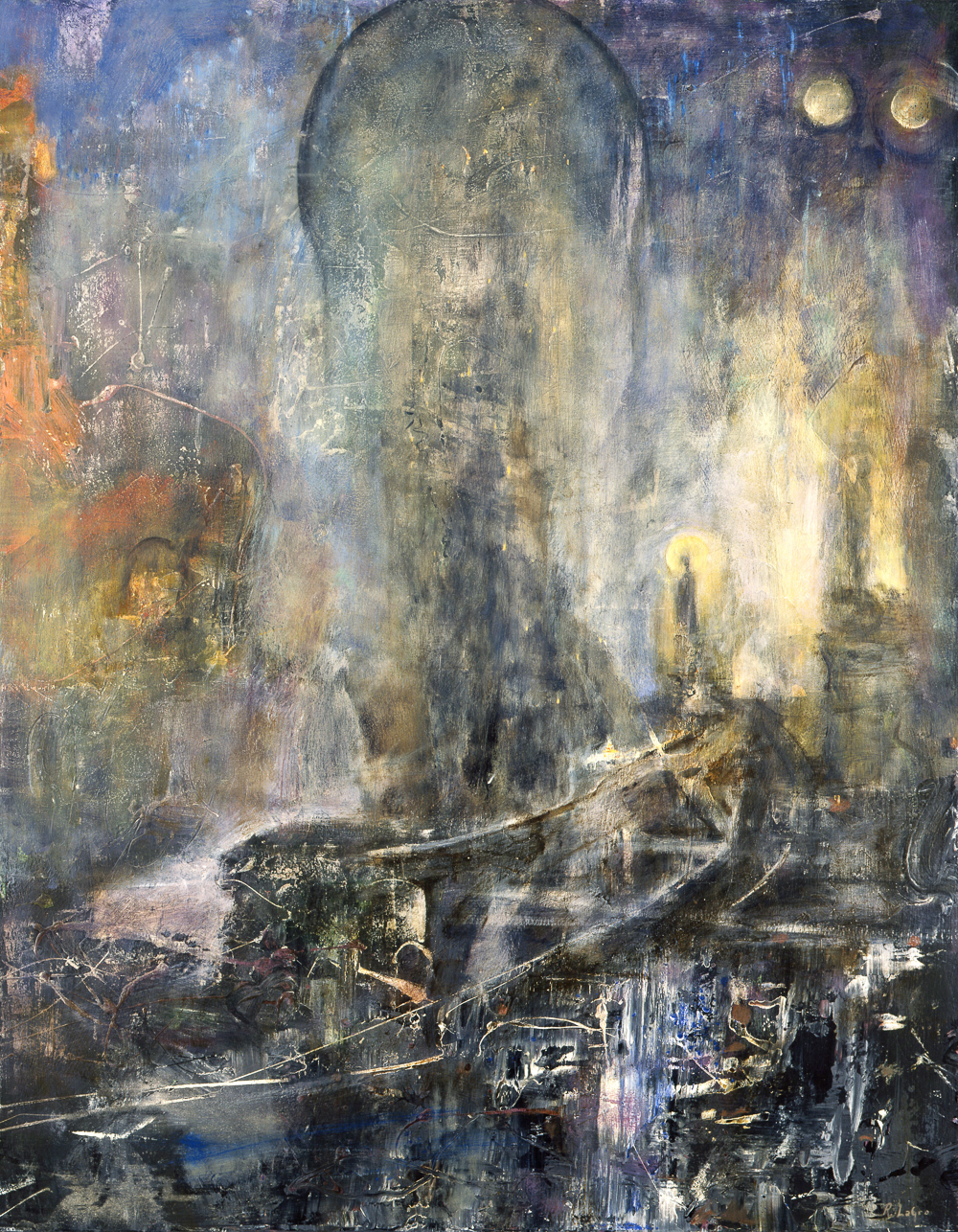 "Charity of Night, 46""x36"", 2008"