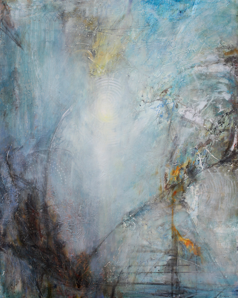 "Guiding Light, 50""x40"", 2014"