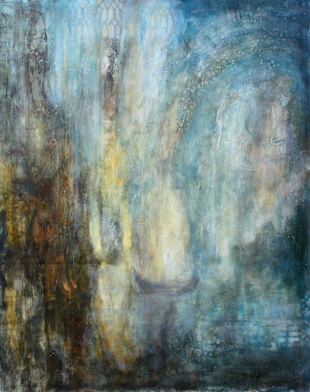 "Light Bearer, 50""x40"", 2014"