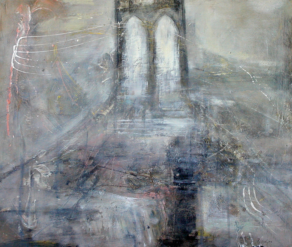 "The Bridge I, 30""x36"", 2005"