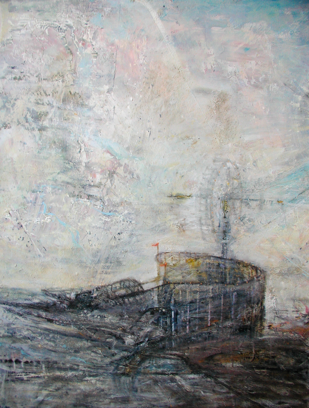 "To Move the Clouds II, 60""x47"", 2009"