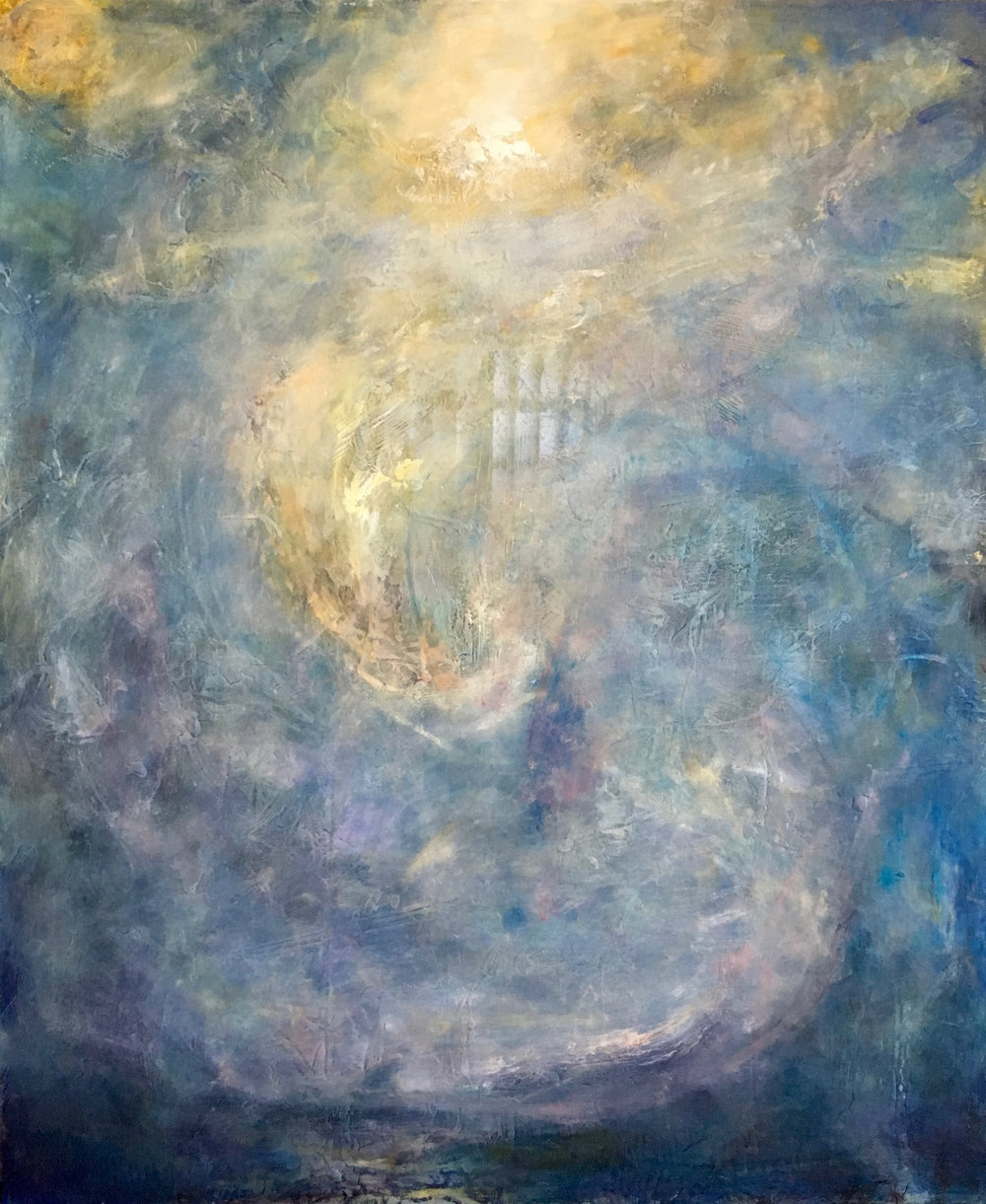 "Ancient Wind, 36""x30"""