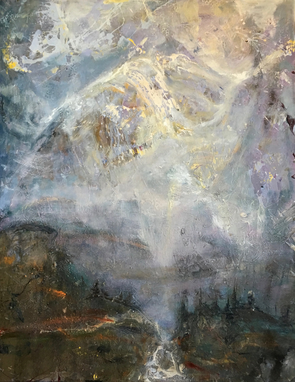 "Mountain Aire, 46""x36"""