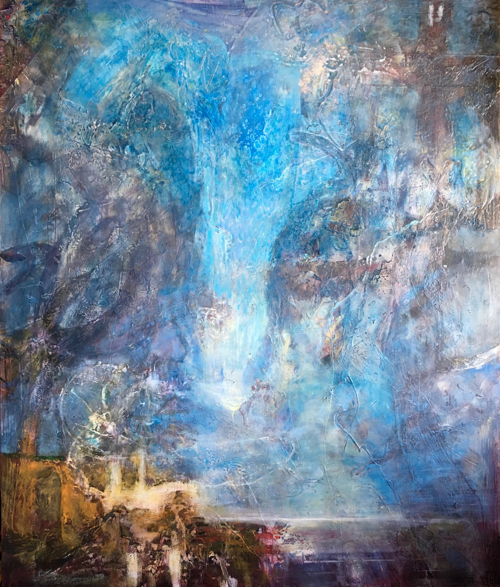 Beyond the Blue, 55x46
