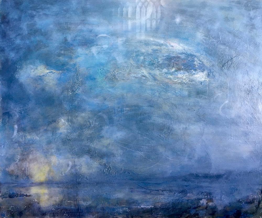 Blue Nocturne, 30x36