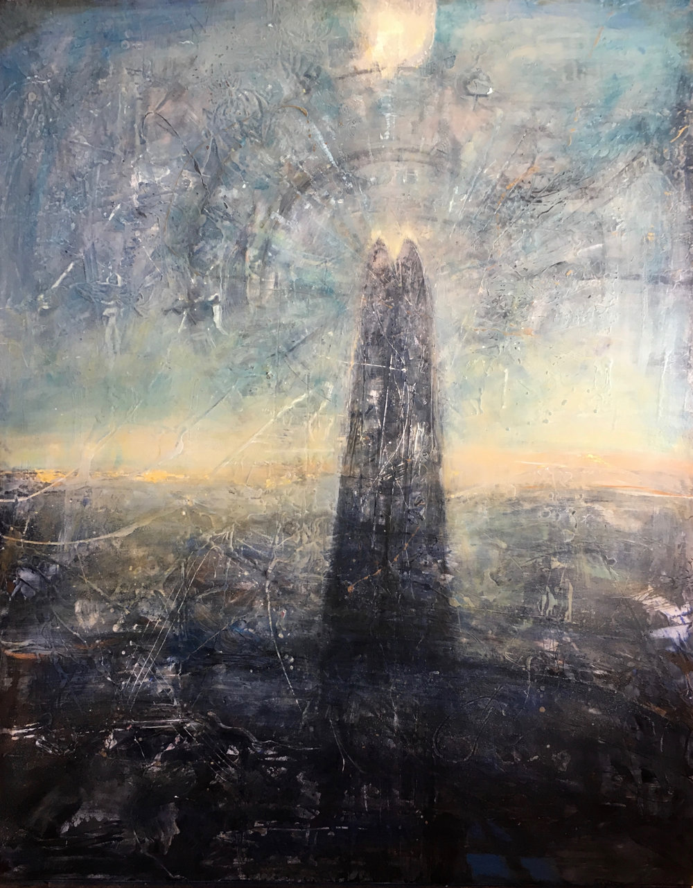 Tower of Song, 50x40