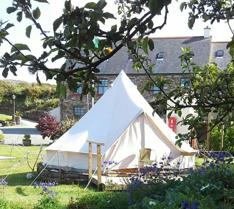 Glamping Bell Tent @ Corcreggan Mill