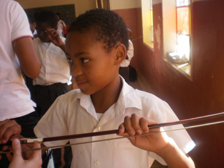 South Africa, 2010, Teaching Violon, concerttrip with Violet and The Bochabela String Orchestra