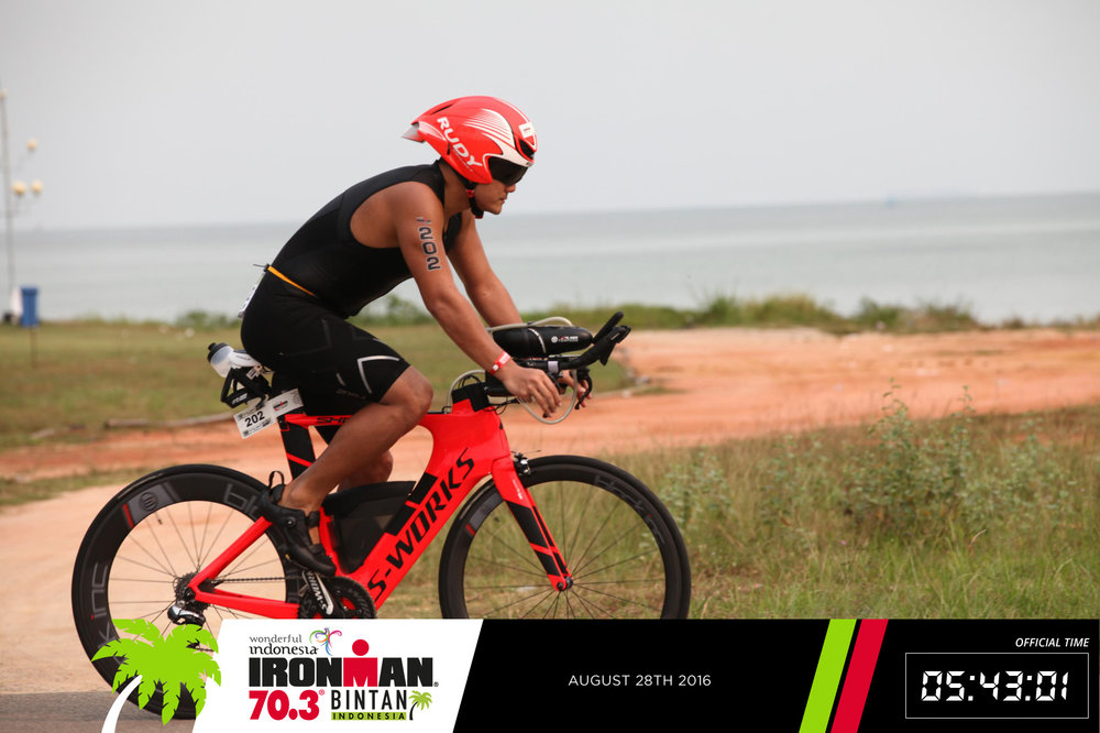 Darren IRONMAN Indonesia 2016