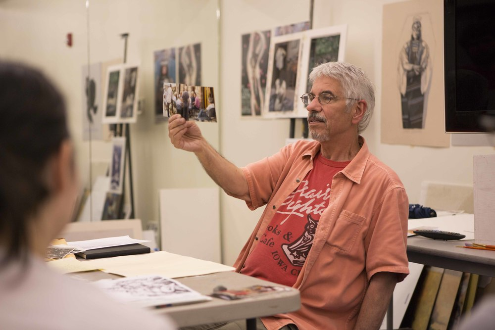 Gary Kelley instructs at The Illustration Academy every year.