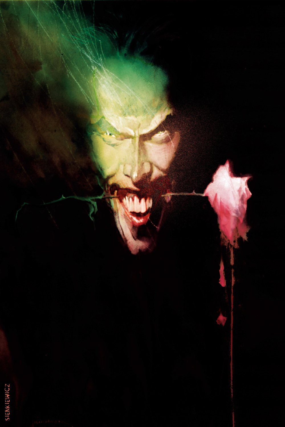 The Joker by Bill Sienkiewicz