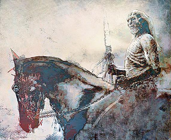 White Walker by Bill Sienkiewicz.