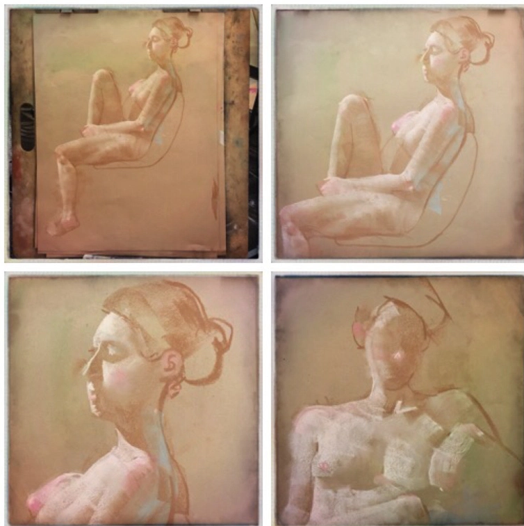 Mark English life drawings.