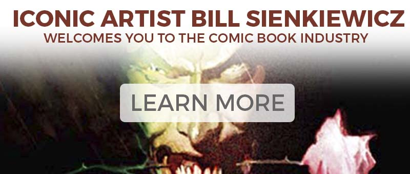 Bill Sienkiewicz Welcomes you to the comic industry
