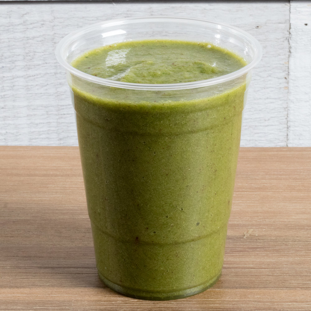 Kidney Kleanse (Kapha)    Includes: Apple, blueberry, cranberry, spinach, vanilla, ginger, coconut water, date