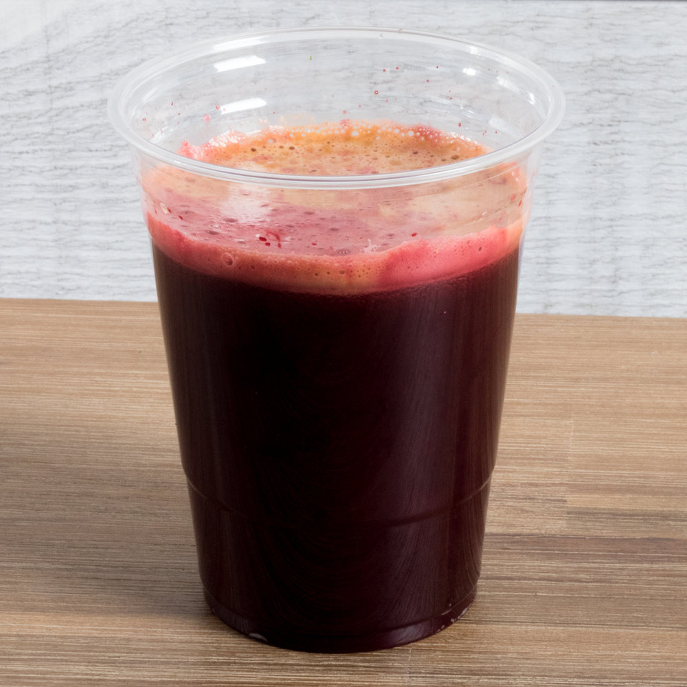 Reiki Juice (Vata, Pitta, Kapha) Includes: Beet, Watercress, celery, carrot, purified water Benefits: blood purifier, detoxifying, respiratory support, liver and gallbladder support